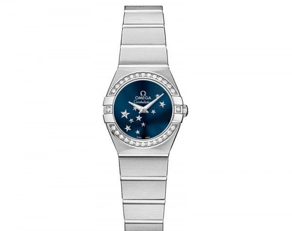 Omega Constellation 123.15.24.60.03.001 Quartz 24 mm Ladies Watch front view
