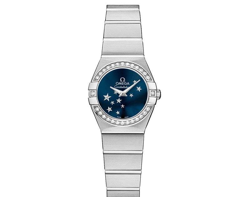Omega Constellation 123.15.24.60.03.001 Quartz 24 mm Ladies Watch front view