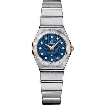 Omega Constellation 123.20.24.60.53.002 Quartz 24 mm Ladies Watch front view