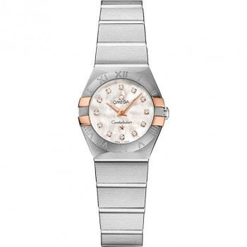 Omega Constellation 123.20.24.60.55.005 Quartz 24 mm Ladies Watch front view