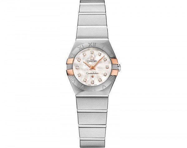Omega Constellation 123.20.24.60.55.005 Quartz 24 mm Ladies Watch front view