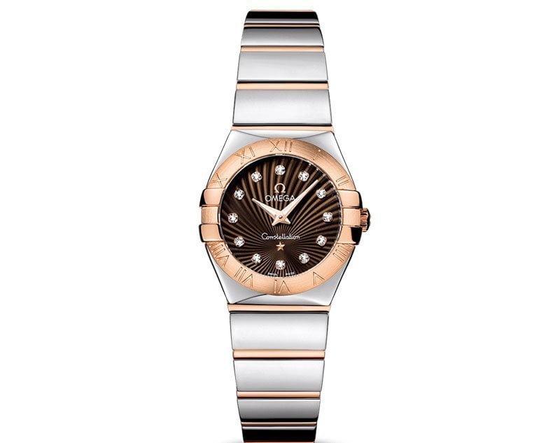 Omega Constellation 123.20.24.60.63.002 Quartz 24mm Ladies Watch