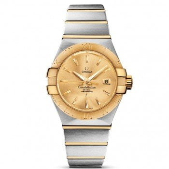 Omega Constellation 123.20.31.20.08.001 Co-Axial Automatic 31mm Ladies Watch front view