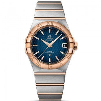 Omega Constellation 123.20.38.21.03.001 Automatic 38 mm Mens Watch front view