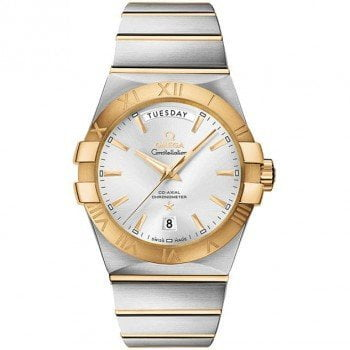 Omega Constellation 123.20.38.22.02.002 Co-Axial Automatic 38 mm Day-Date Mens Watch