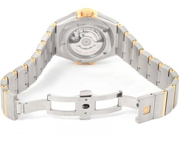 Omega Constellation 123.25.24.60.58.002 Quartz 24mm Ladies Watch back case view