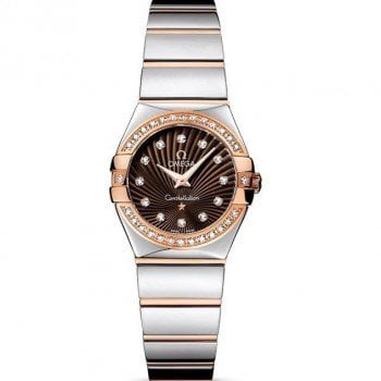 Omega Constellation 123.25.24.60.63.002 Quartz 24mm Ladies Watch front view
