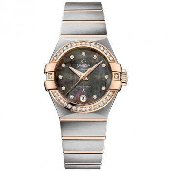 Omega Constellation 123.25.27.20.57.006 Co-Axial Automatic 27mm Ladies Watch front view