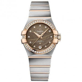 Omega Constellation 123.25.27.20.63.001 Co-Axial Automatic 27mm Ladies Watch front view