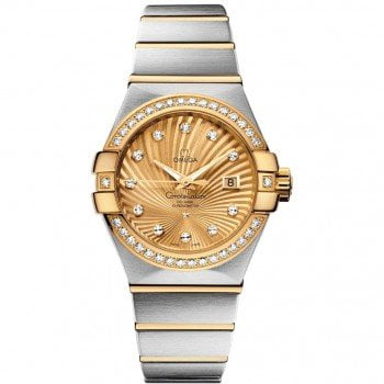 Omega Constellation 123.25.31.20.58.001 Co-Axial Automatic 31mm Ladies Watch front view