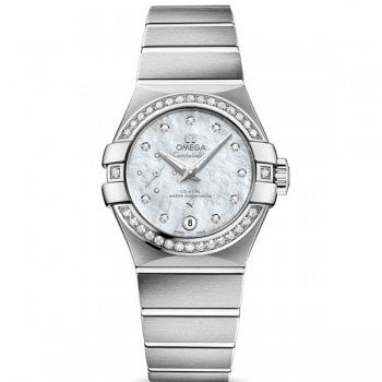 Omega Constellation 127.15.27.20.55.001 Automatic Small Seconds Lady
