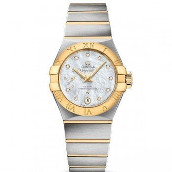 Omega Constellation 127.20.27.20.55.002 Automatic Small Seconds Lady front