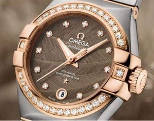 Omega Constellation Co-Axial Automatic 27mm Ladies Watch Collection @majordor