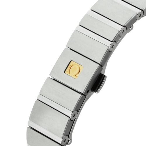 Omega Constellation 123.10.38.21.01.001 Automatic 38 mm Mens Watch deployment buckle