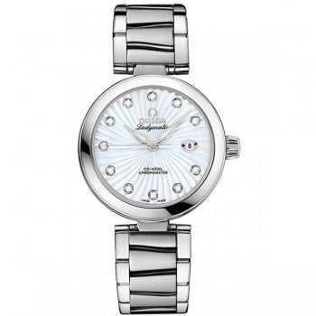 Omega DEVILLE LADYMATIC 425.30.34.20.55.001 Ladies Luxury Watch @majordor #majordor