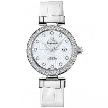 Omega 425.38.34.20.55.001 De Ville Ladymatic Ladies Luxury Watch