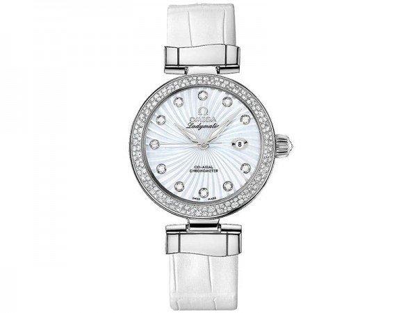 Omega 425.38.34.20.55.001 De Ville Ladymatic Ladies Luxury Watch