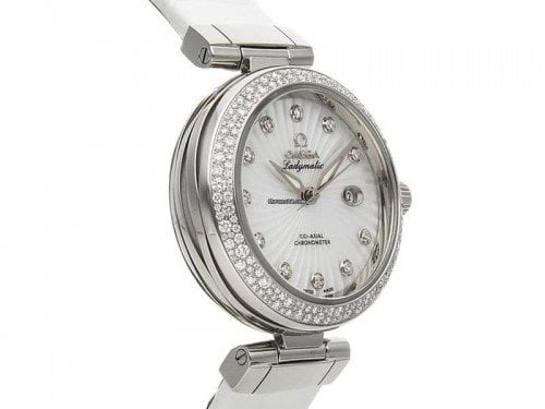 Omega DEVILLE LADYMATIC 425.38.34.20.55.001 Ladies Luxury Watch