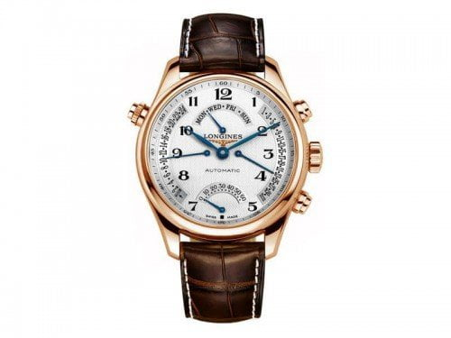 Longines Master Collection L2.715.8.78.3 Retrograde 41mm Mens Watch @majordor #majordor