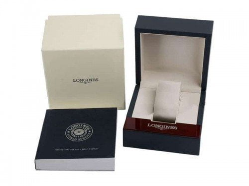 Longines Master Complications Mens Watch box