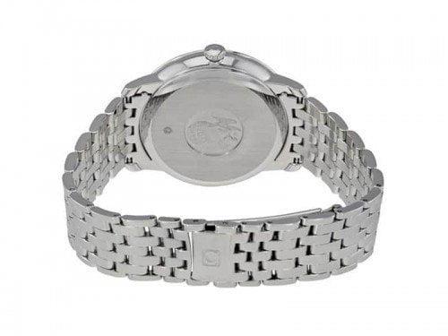 Omega 424.10.37.20.03.001 De Ville Prestige Co-Axial Luxury Watch back case
