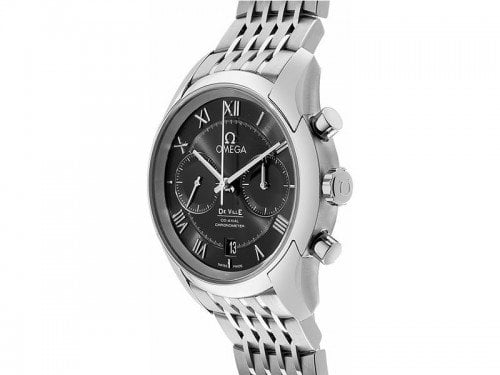 Omega De Ville 431.10.42.51.01.001 Co-Axial Chronograph Mens Watch side view