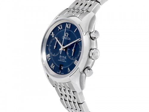 Omega De Ville 431.10.42.51.03.001 Co-Axial Chronograph Mens Watch side view