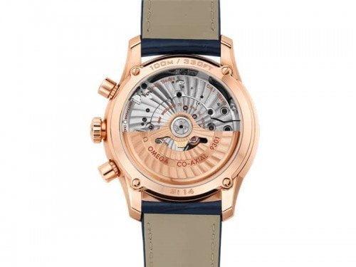Omega De Ville 431.53.42.51.03.001 Co-Axial Chronograph Mens Watch back case 2