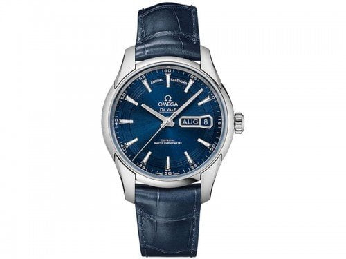 Omega De Ville 433.33.41.22.03.001 Hour Vision Annual Calendar Watch @majordor #majordor