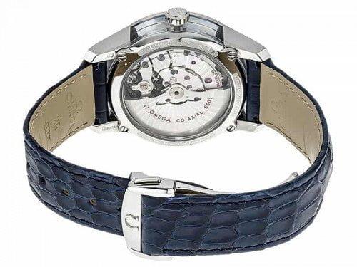 Omega De Ville 433.33.41.22.03.001 Hour Vision Annual Calendar Watch back case 2