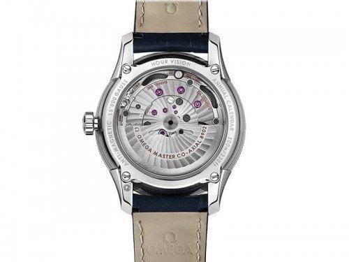 Omega De Ville 433.33.41.22.03.001 Hour Vision Annual Calendar Watch back case 1