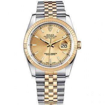 Rolex Lady Datejust 116233-gldsj 36mm Jubilee Bracelet Watch @majordor #majordor