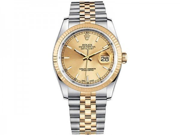 Rolex Lady Datejust 116233-gldsj 36mm Jubilee Bracelet Watch @majordor #majordor