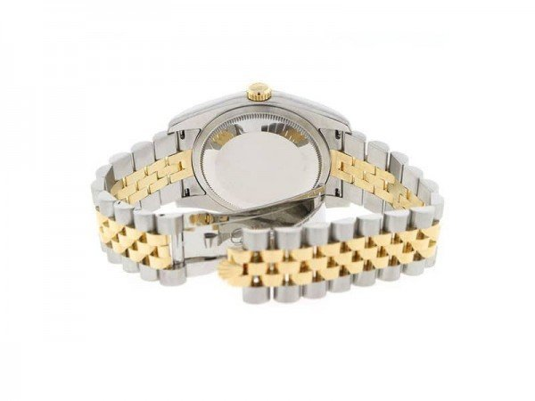 Rolex Lady Datejust 116233-gldsj 36mm Jubilee Bracelet Watch