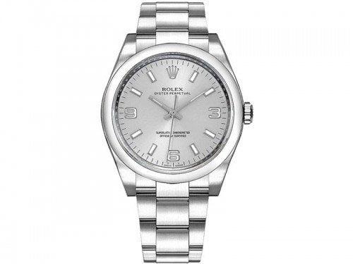 Rolex 116000 SLVASO Oyster Perpetual 36 Silver Dial Ladies Watch caliber 3130 @majordor #majordor
