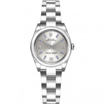 Rolex 176200 slvbsao Oyster Perpetual 26mm Silver Dial Ladies Watch caliber 2231 @majordor #majordor