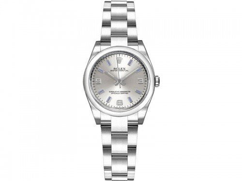 Rolex 176200 slvbsao Oyster Perpetual 26mm Silver Dial Ladies Watch caliber 2231 @majordor #majordor