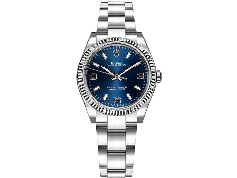 Rolex 177234 blusao Oyster Perpetual 31mm Blue Dial Lady Watch caliber 2231 @majordor #majordor