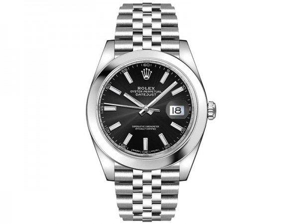 Rolex Datejust 126300 blksj 41 Black Dial Jubilee Steel Bracelet Watch @majordor #majordor