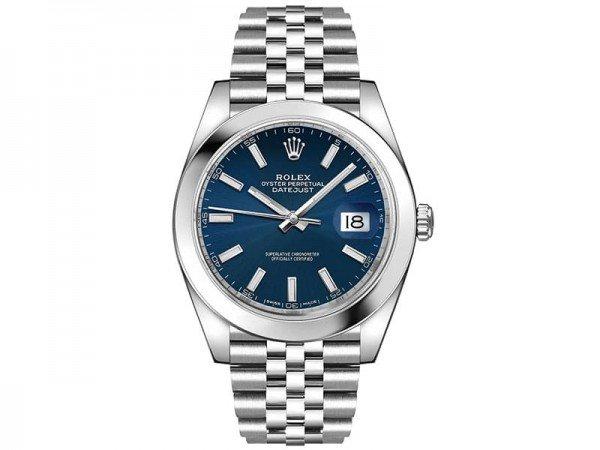 Rolex Datejust 126300 blusj 41 Blue Dial Jubilee Steel Bracelet Watch @majordor #majordor