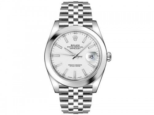 Rolex Datejust m126300-0006 whtsj 41mm White Dial