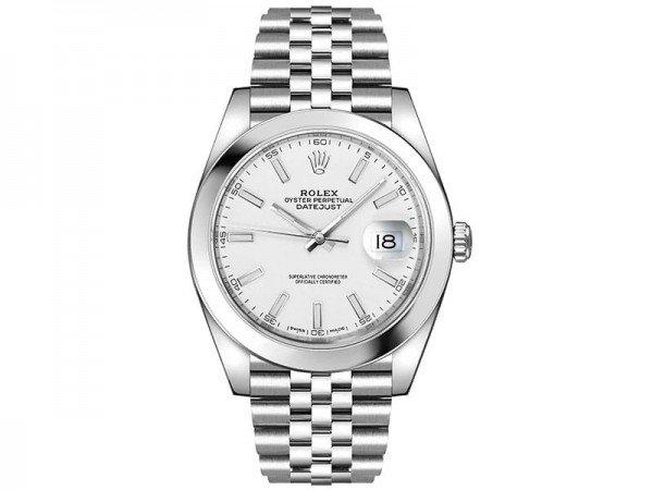 Rolex Datejust 126300 whtsj 41 White Dial Jubilee Steel Bracelet Watch @majordor #majordor