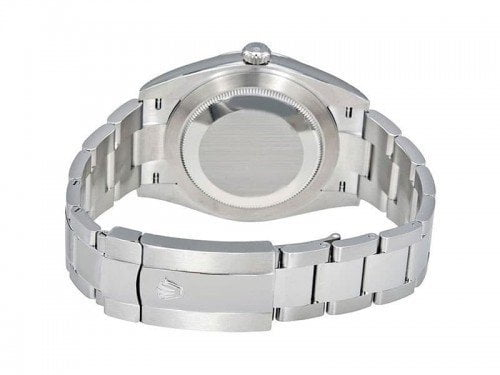 Rolex Datejust 126300 whtso 41 White Dial Oyster Steel Bracelet Watch back case