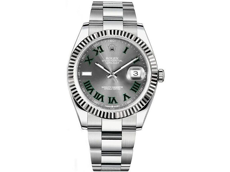 Rolex Datejust m126334-0021 sltro 41mm Grey Dial Watch