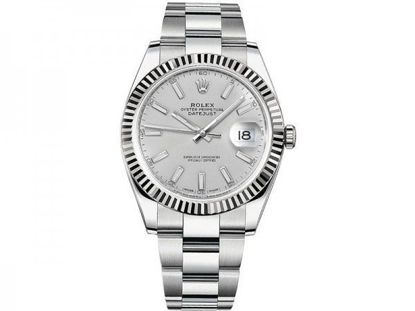 Rolex Datejust 126334 slvso 41 Silver Dial Oyster Steel Bracelet Watch @majordor #majordor