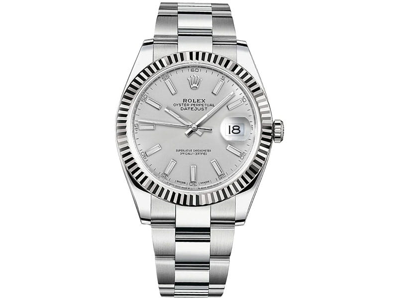 Rolex Datejust m126334-0003 slvso 41mm Silver Dial Watch
