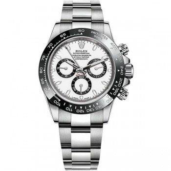 Rolex Daytona 116500ln White Cosmograph Steel Mens Luxury Watch @majordor #majordor