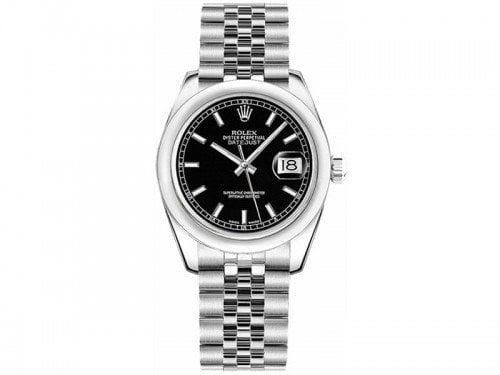 Rolex Lady Datejust m178240-0016 blksj 31mm Black Dial