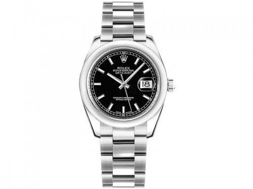 Rolex Lady Datejust m178240-0025 blkso 31mm Black Dial