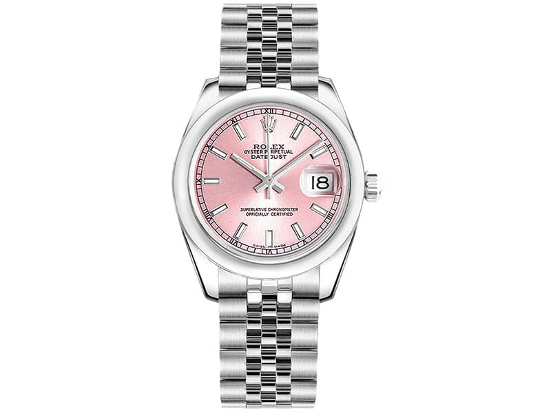 Rolex Lady Datejust 178240-0028 pnksj 31mm Pink Dial